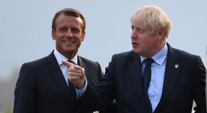 Макрон призова Джонсън да изясни позицията на Великобритания за Брекзит