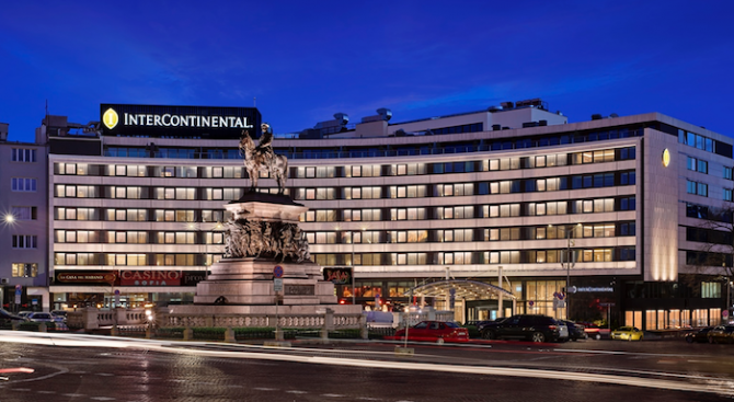 InterContinental Sofia - над 90% удовлетвореност сред служителите
