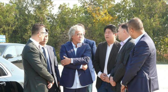 Мирослав Петров към южнокорейски производител на електромобили: Плевен е стратегическо място за инвестиции