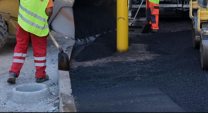 Започна изграждането на новото кръгово кръстовище на пътя Пловдив - Асеновград