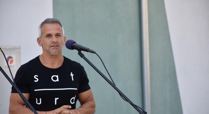 Йордан Йовчев: Благодарение на д-р Атанас Камбитов масовият и елитният спорт в Благоевград се развиват отлично