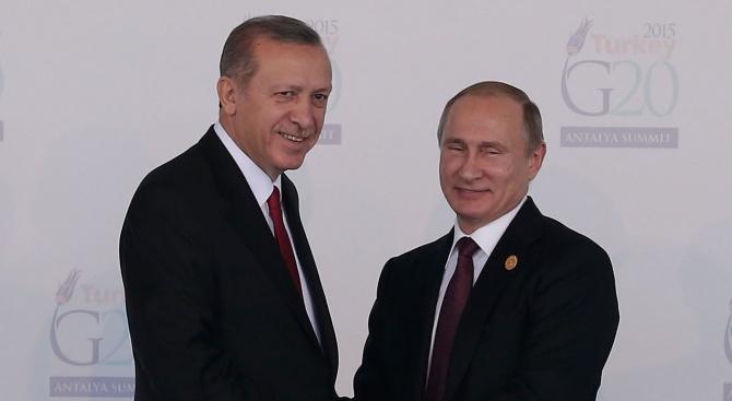 Медии: Владимир Путин и Реджеп Ердоган сложиха край мечтите за независим сирийски Кюрдистан
