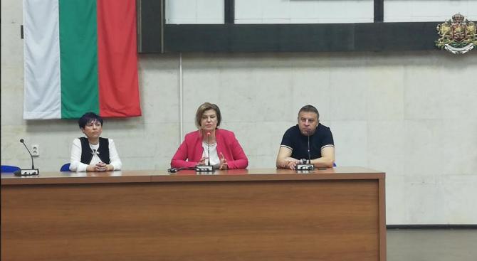 Ирена Соколова, председател на Жени ГЕРБ: Благоевград е пример за добро управление благодарение на д-р Атанас Камбитов
