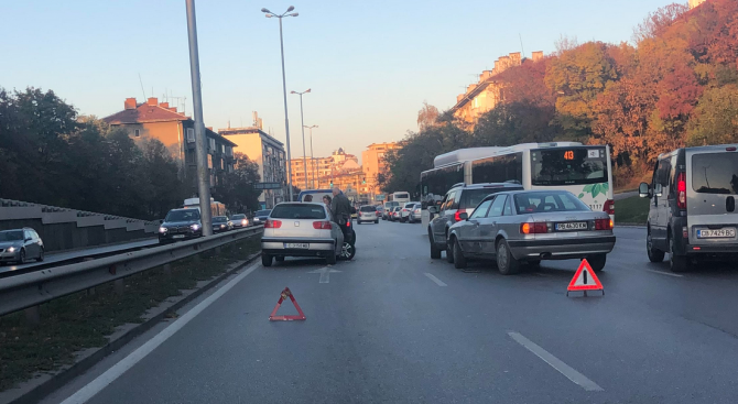 Катастрофа край Румънското посолство в София