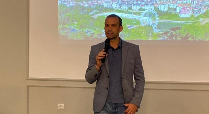Туристическият бранш и бизнесът в Сандански подкрепиха кандидата на ГЕРБ за кмет на общината Кирил Котев за нов управленски мандат
