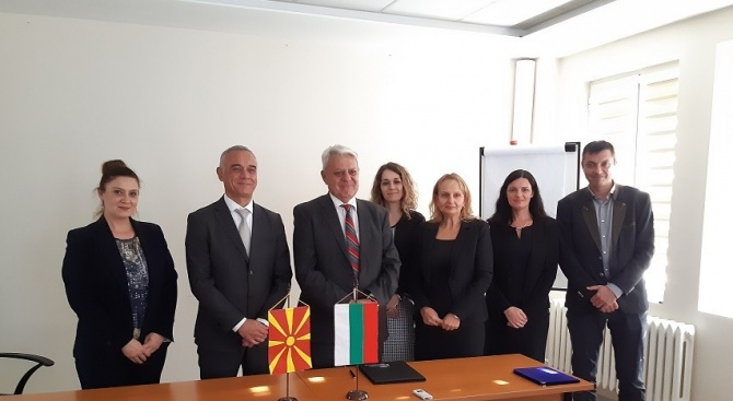 Директорът на БАБХ и македонският му колега подписаха споразумение за сътрудничество