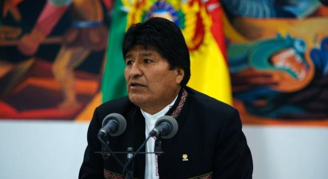 Ево Моралес се обяви за избран за четвърти президентски мандат