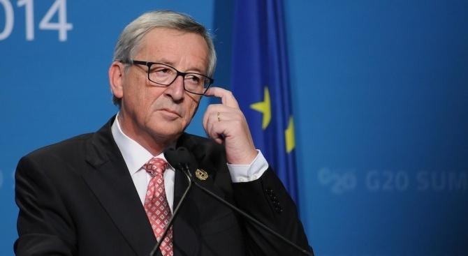 """Юнкер: """"Брекзит"""" е срамота и най-трудният проблем, пред който някога сме се изправяли"""
