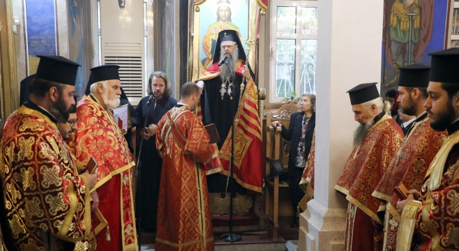 Митрополит Николай благослови Димитровград за Димитровден