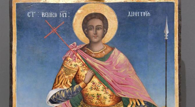 """Тържествена света литургия отслужиха в храма """"Св. Димитър"""" във Варна"""