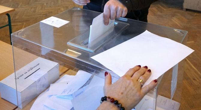 Всички изборни секции в област Търговище са отворени