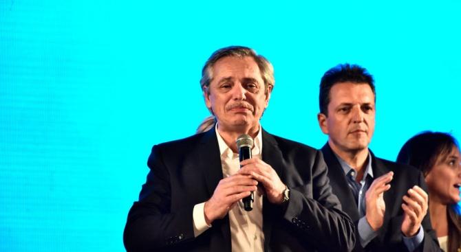 Аржентина избра за президент левия кандидат перонист Алберто Фернандес