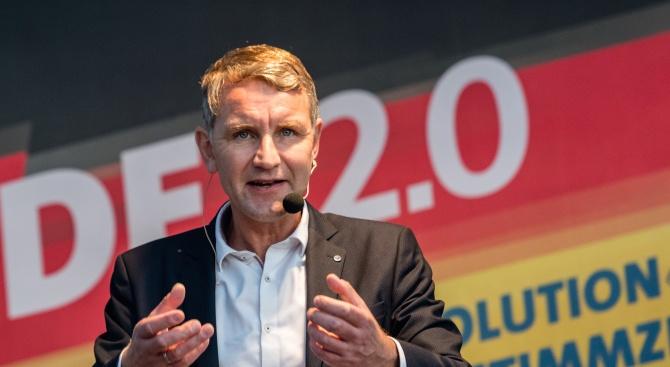 Алтернатива за Германия задмина партията на Ангела Меркел с 1% на местният вот в Тюрингия