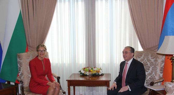 България и Армения ще работят за повече свързаност