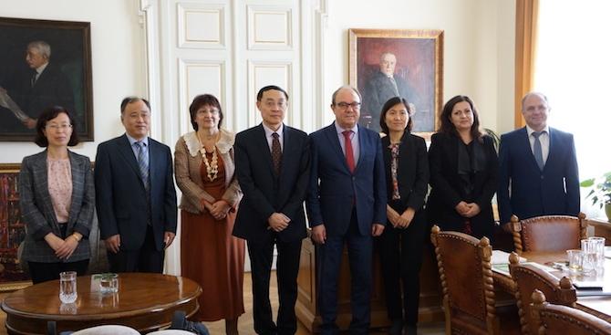 Учени от Китай посетиха Българската академия на науките