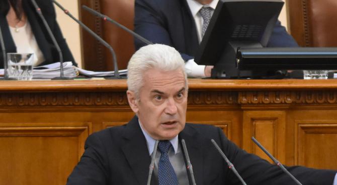 Парламентът ще разгледа оставката на Волен Сидеров като депутат