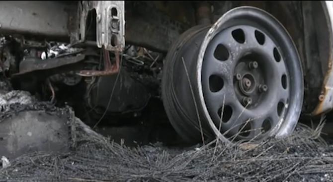 Запалиха колите на кандидат-кмет в монтанско село