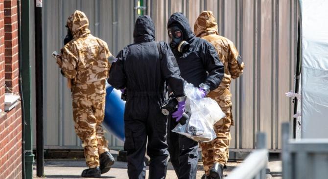 Отцепиха оживена улица в Лондон зарадиразлято химическо вещество