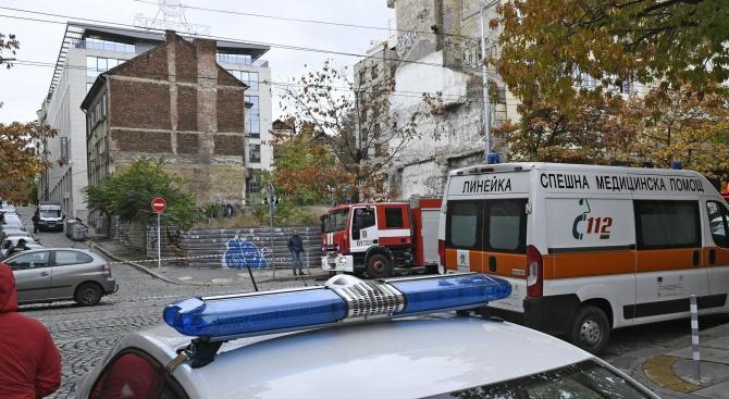 Сигнал за бомба отцепи централна софийска улица