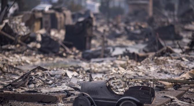 Бебе загина при пожар в плевенско село