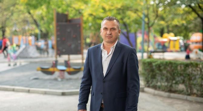 """Кандидатът на ГЕРБ за кмет на район """"Източен"""" в Пловдив Иван Стоянов: Балотажът ще е тежък, важен е всеки глас"""