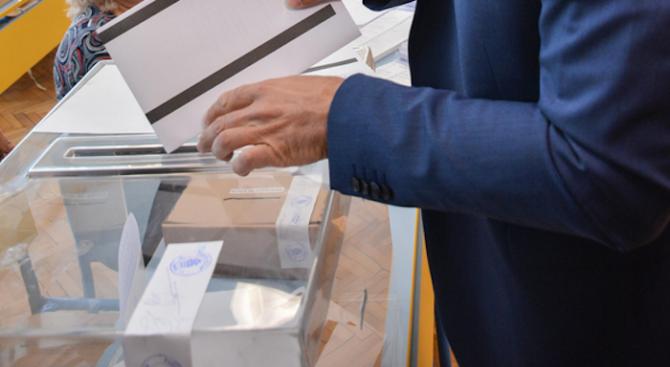 В спокойна обстановка е започнал изборният ден във Великотърновска област