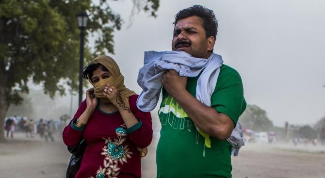 Делхи бори мръсния въздух с номера