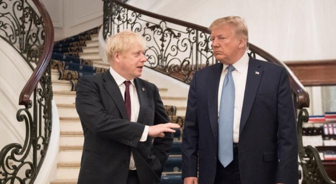 Джонсън поиска от Тръмп да отмени митата за скоча