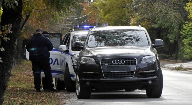Заловиха чужденец с краден джип Ауди Q7 в Хасково
