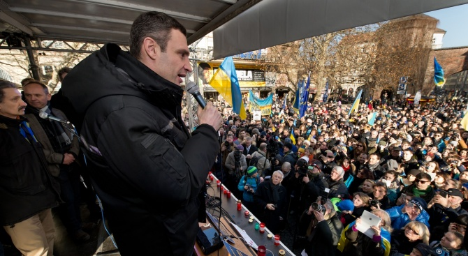 Погнаха кмета на Киев за държавна измяна