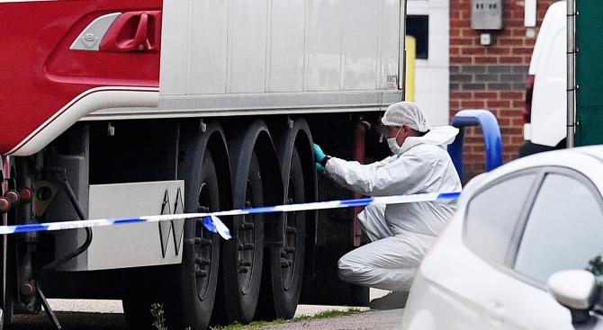 Жертвите от камиона-ковчег са виетнамци