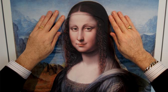 Мона Лиза оживява с добавена реалност