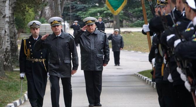 С военни ритуали беше отбелязана 107-ата годишнина от първата българска морска победа