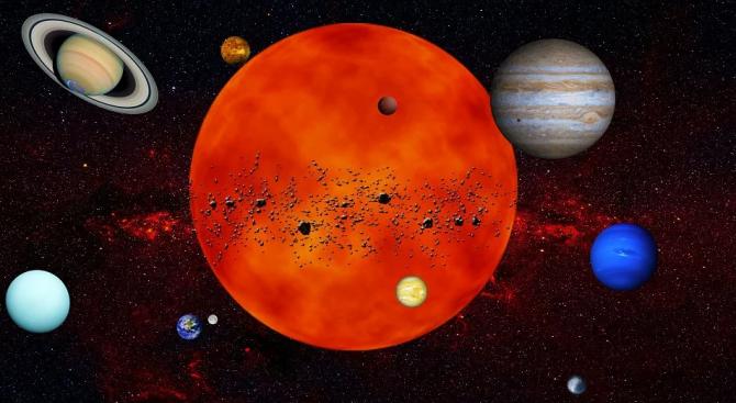 Планетата Меркурий се готви за космическо шоу със Слънцето