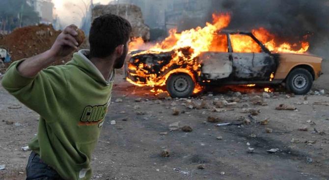 Кола бомба уби 8 цивилни в Сирия