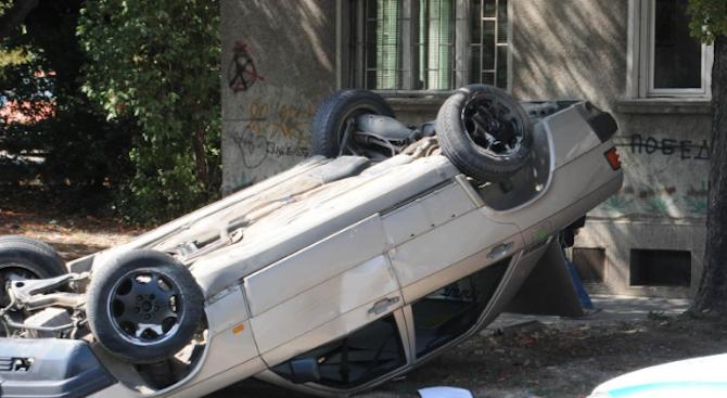 Жена и дете пострадаха при катастрофа в района на Благоевград