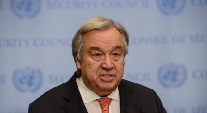 Гутериш изрази безпокойство за ситуацията в Боливия