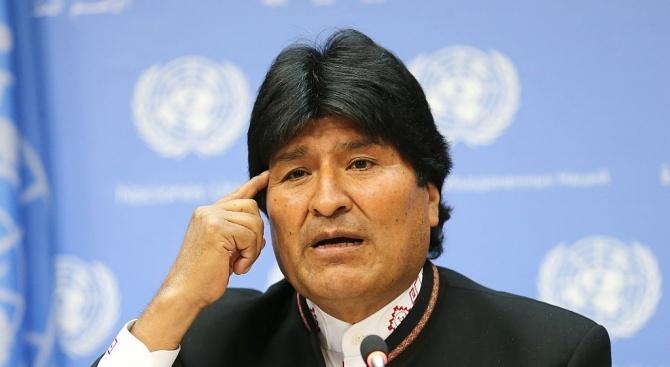 Боливийският парламент не може да обсъди оставката на президента Моралес