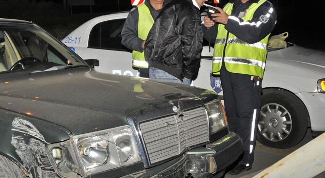 Полицейска гонка с пиян шофьор в Шумен