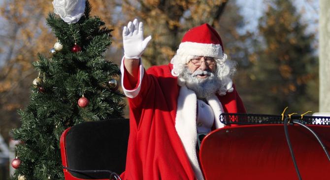 Дядо Коледа се върна на работа в германска поща
