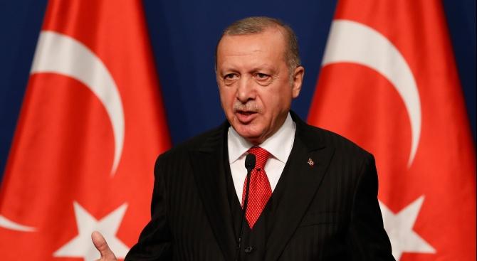 Ердоган: Сирийските кюрдски милиции са терористи