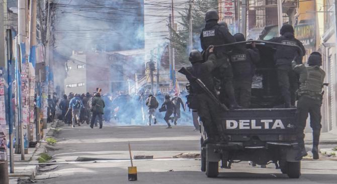 ООН разкритикува прекомерната употреба на сила в Боливия