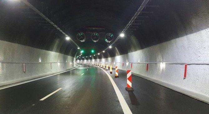 """Верижна катастрофа при тунел """"Железница"""""""