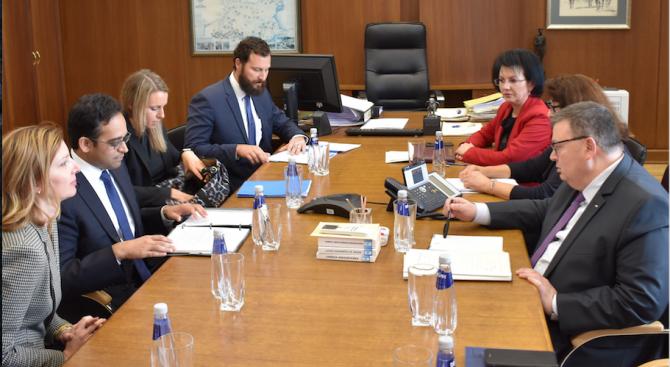 Цацаров се срещна с координатора на Правителството на САЩ по въпросите на защитата на интелектуалната собственост