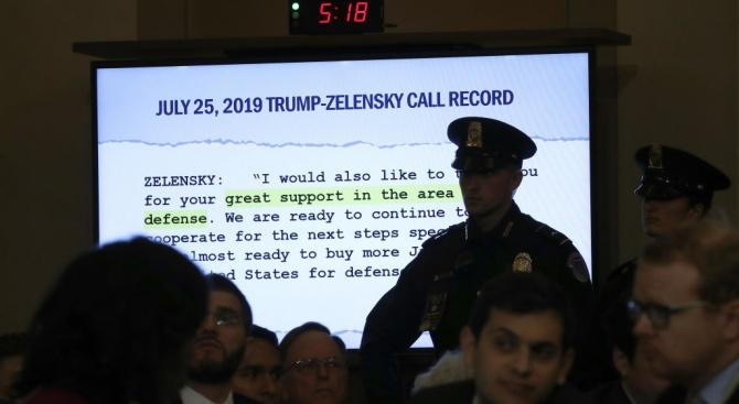Украинският президент уморен от скандала с Тръмп