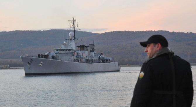 """Екипажът на фрегатата """"Верни"""" показа високо ниво на подготовка във военноморско учение с международно участие"""