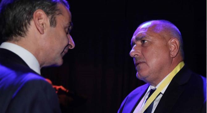 Борисов проведе среща с гръцкия премиер Кириакос Мицотакис