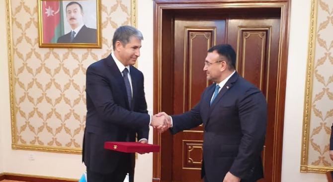 Висока оценка за позитивното развитие на двустранните отношения между България и Азербайджан
