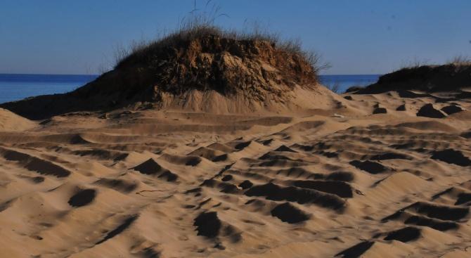 Разпоредиха на концесионера в Созопол да спре изземването на пясък от Черно море