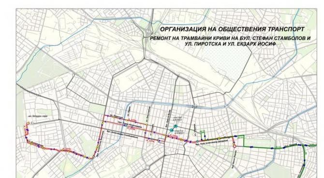 Два трамвая сменят маршрутите си от днес
